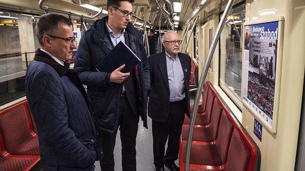 Budapest ostromára emlékező kiállítás nyílt a metróban