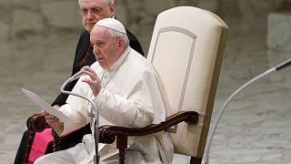 Ferenc pápa szokásos heti audienciája