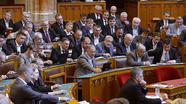 Fidesz-frakció a parlamentben