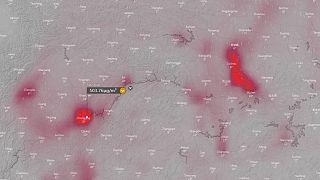 Pronóstico de niveles de dióxido de azufre en Wuhan y Chongqing