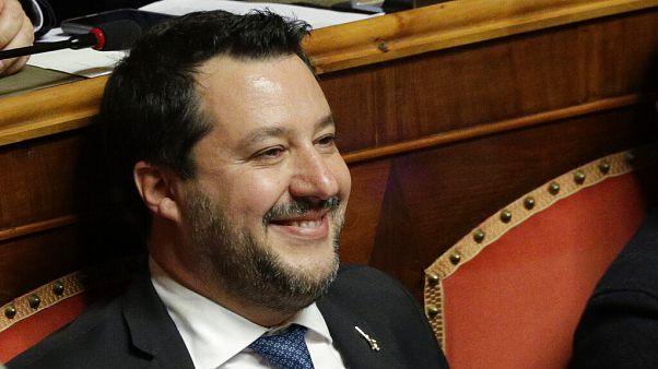 Bíróság elé áll Matteo Salvini a bevándorlók feltartóztatása miatt