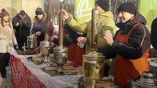 Rusya'da çay festivali