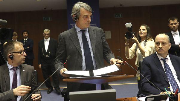 Avrupa Parlamentosu Başkanı David Sassoli
