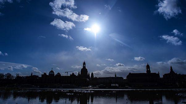 Дрезден вспоминает ковровые бомбардировки 1945 года