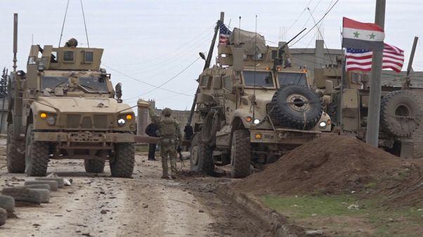 شاهد: اشتباكات بين قوات أمريكية ومقاتلين موالين للنظام السوري