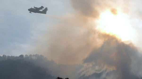 Corse : une accalmie sur le front des incendies
