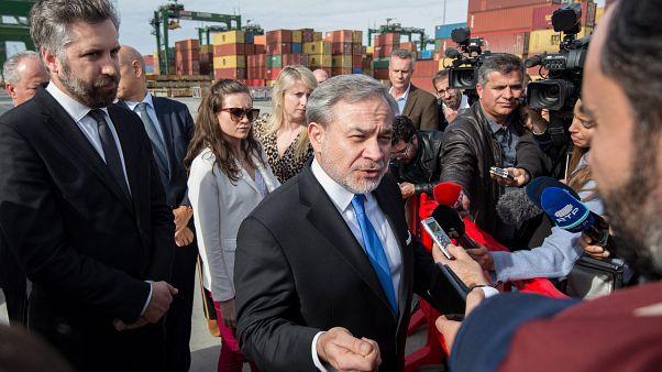 Estados Unidos interessados na expansão do porto de Sines