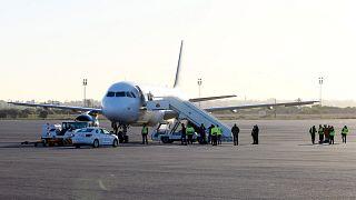 Libya'nın başkenti Trablus'taki Mitiga Uluslararası Havalimanı