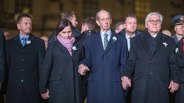 Dresde celebra el 75 aniversario del bombardeo advirtiendo contra la tergiversación histórica