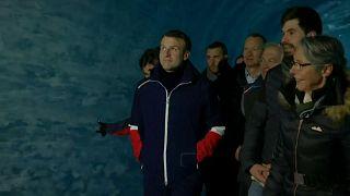 Alpi: Macron sul Monte Bianco in difesa dell'ambiente