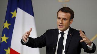 Macron pede política europeia do carbono