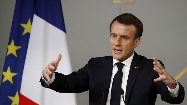 En una visita a Chamonix, Macron insta a una cooperación Europea frente al cambio climático