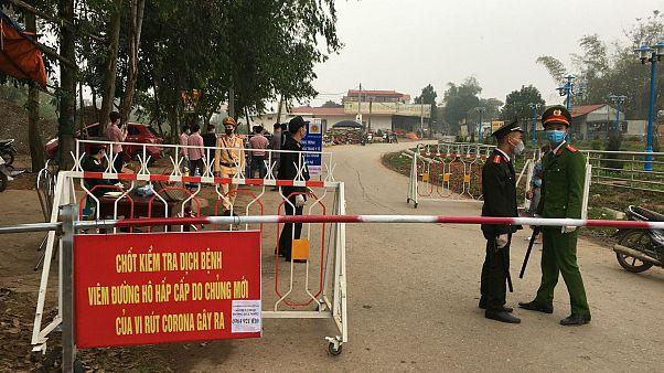 Vietnam'da karantinaya alınan Son Loi bölgesi