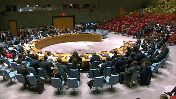 Az ENSZ BT ülése