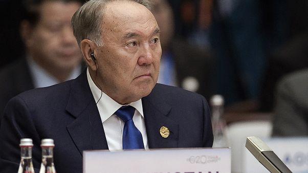 Kazakistan'ın eski Cumhurbaşkanı Nursultan Nazarbayev