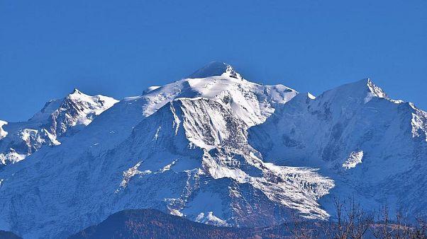 Der Mont Blanc - höchster Berg der Alpen