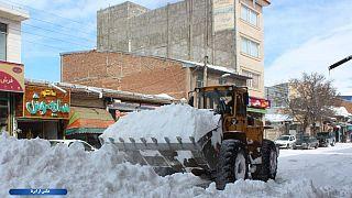 برف گیلان؛ مرگ دستکم ۱۰ نفر و مصدومیت ۱۴۵ تن