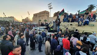 درگیریها در حومه پایتخت لیبی با وجود قطعنامه سازمان ملل از سر گرفته شد