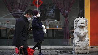 Quarantena volontaria nella chinatown di Madrid