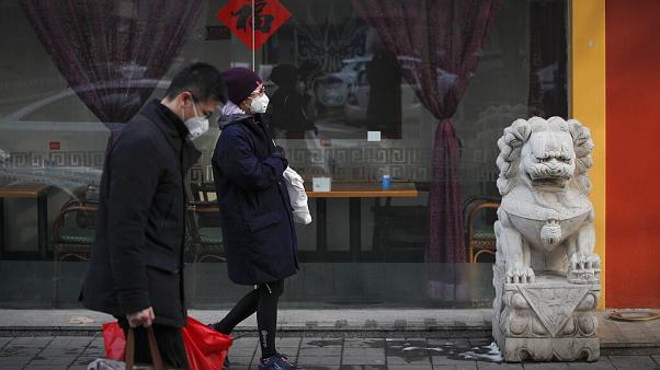 Китайские кварталы Мадрида опустели