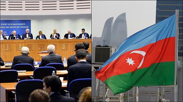 AİHM, Aliyev'in heykeline muhalif mesaj yazanlara 'hak ihlalinden' Azerbaycan'ı mahkum etti