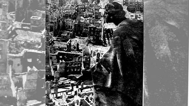 درسدن ۷۵ سال پیش در آتش بمبهای متفقین سوخت