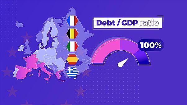 Как обстоят дела с госдолгом и бюджетным дефицитом в ЕС?
