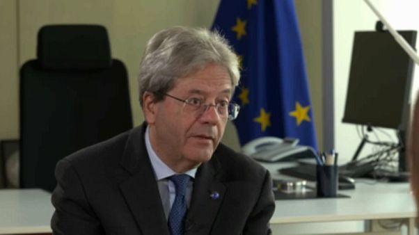 Paolo Gentiloni, comissário europeu para a Economia