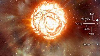 Araştırma: 'Güneş'ten 1000 kat daha büyük olan Betelgeuse yıldızı yakında patlayabilir'