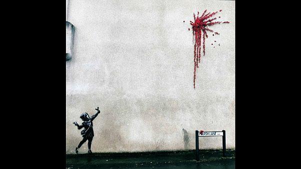 Neues Banksy-Werk in Bristol, der Heimatstadt des Künstlers