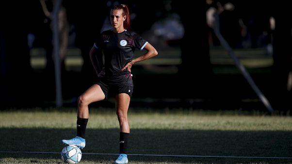 اللاعبة الأرجنتينية مارا غوميز