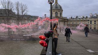 Femen против Дня святого Валентина