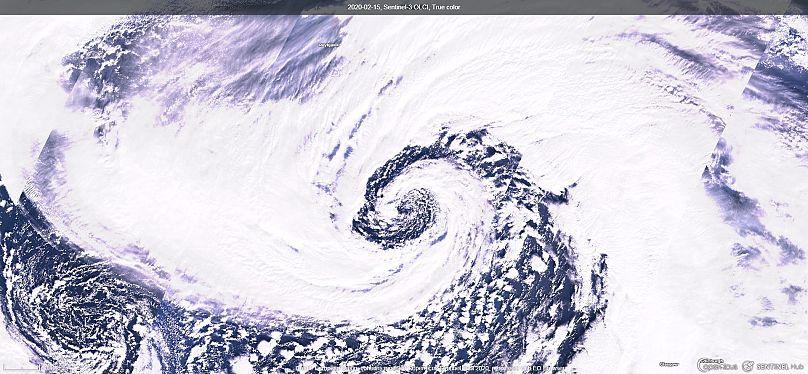 Contiene datos modificados de Copernicus Sentinel 2020 obtenidos con EO Browser
