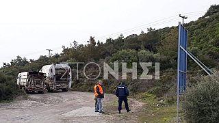 Αποκλεισμός δρόμων κοντά στο Μανταμάδο