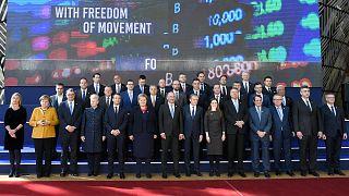 Egy tavalyi brüsszeli csúcs részvevői