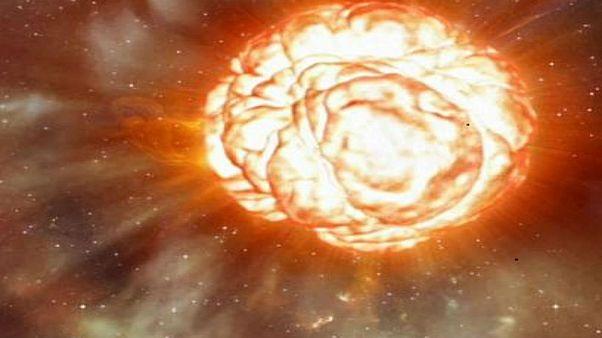 نجم آفل، حجمه أكبر بنحو 20 مرة من الشمس قد ينفجر قريبا