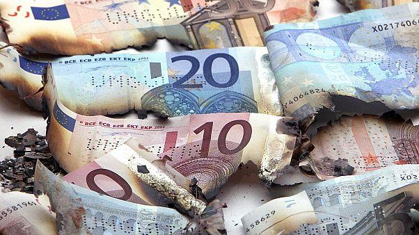 AB bütçesi, euro banknotları