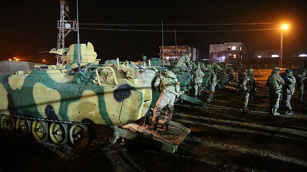 İdlib'e askeri sevkiyat - TSK