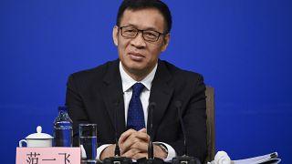 Chinese bank notes quarantined in COVID-19 coronavirus crisis