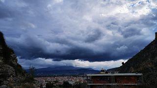 Ισχυρές νυκτερινές βροχές σημειώθηκαν στο Αιγαίο