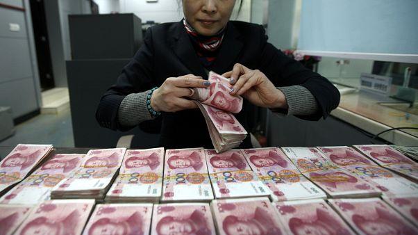 Çin'de banknotlar koronavirüs salgınına önlem amaçlı karantinaya alınacak