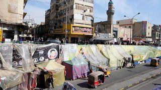 یک معترض عراقی دیگر در نزدیکی میدان تحریر بغداد به قتل رسید