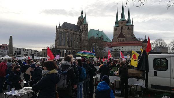 Demo in Erfurt