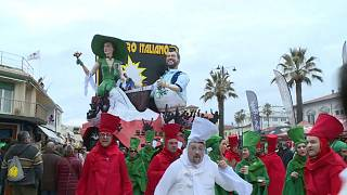 Italien feiert Karneval