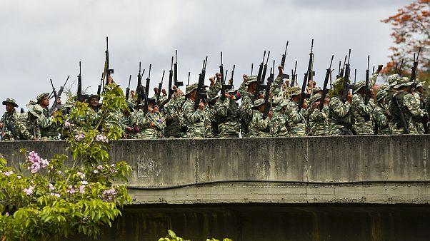 Démonstration de force au Venezuela