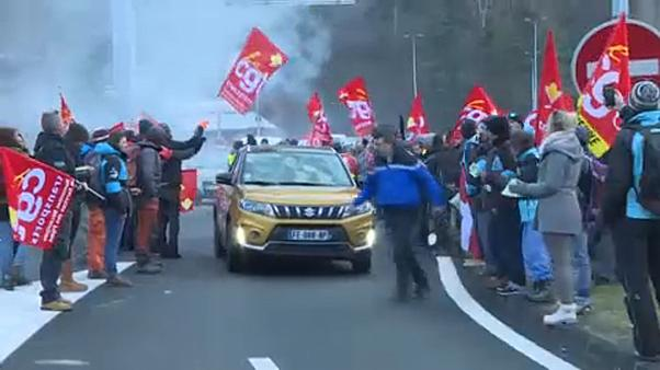 Paros en las estaciones de esquí francesas en protestas por la reforma del seguro de desempleo