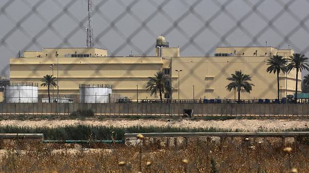 چند راکت به سمت مقر نیروهای ائتلاف و سفارت آمریکا در بغداد شلیک شد