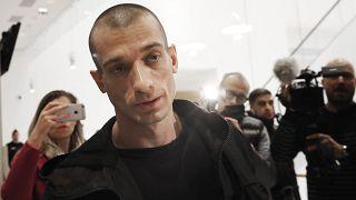 Павленский с подругой арестованы