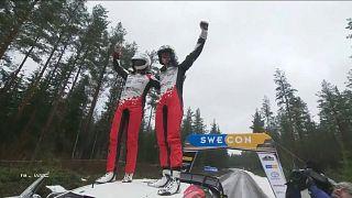Элфин Эванс выиграл Ралли Швеции