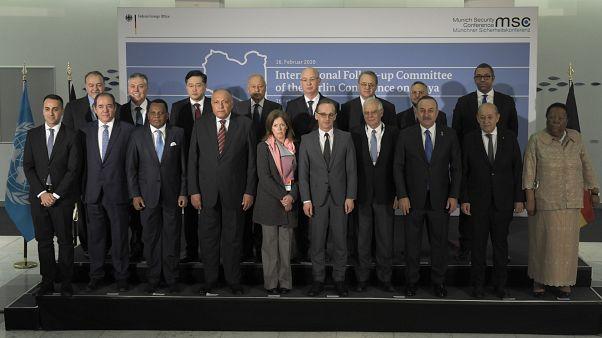 Reforçado em Munique o compromisso de embargo de armas à Líbia